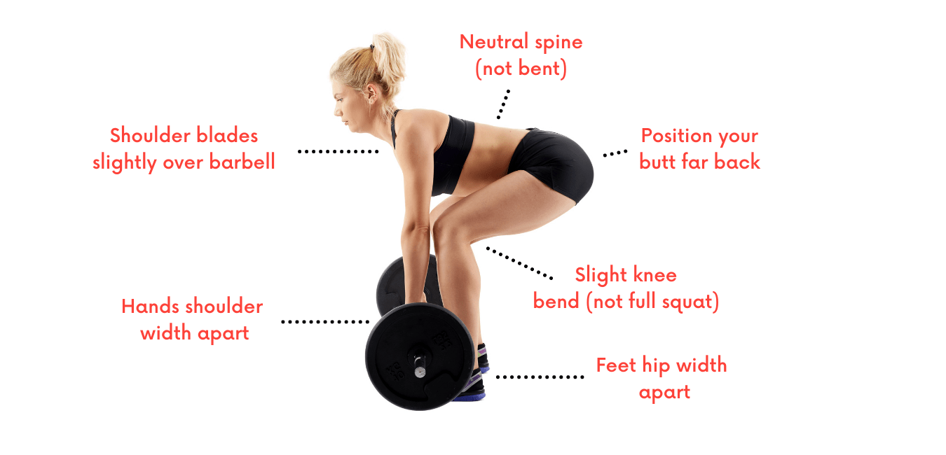How to do a deadlift properly